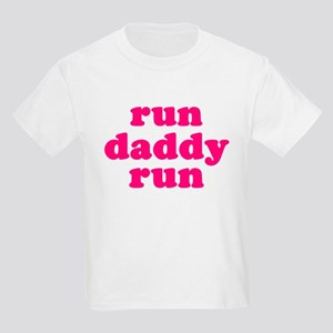 run daddy run Kids Light T-Shirt